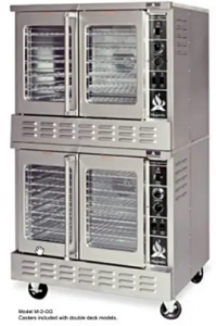 American Range ME-2 Electric Double Deck Convection Oven for bakery